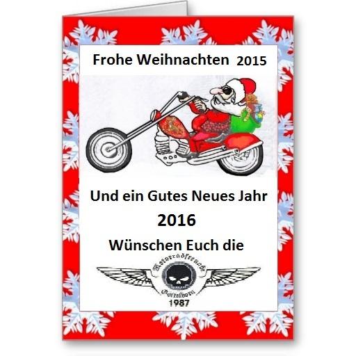 Weihnachtskarte MFG